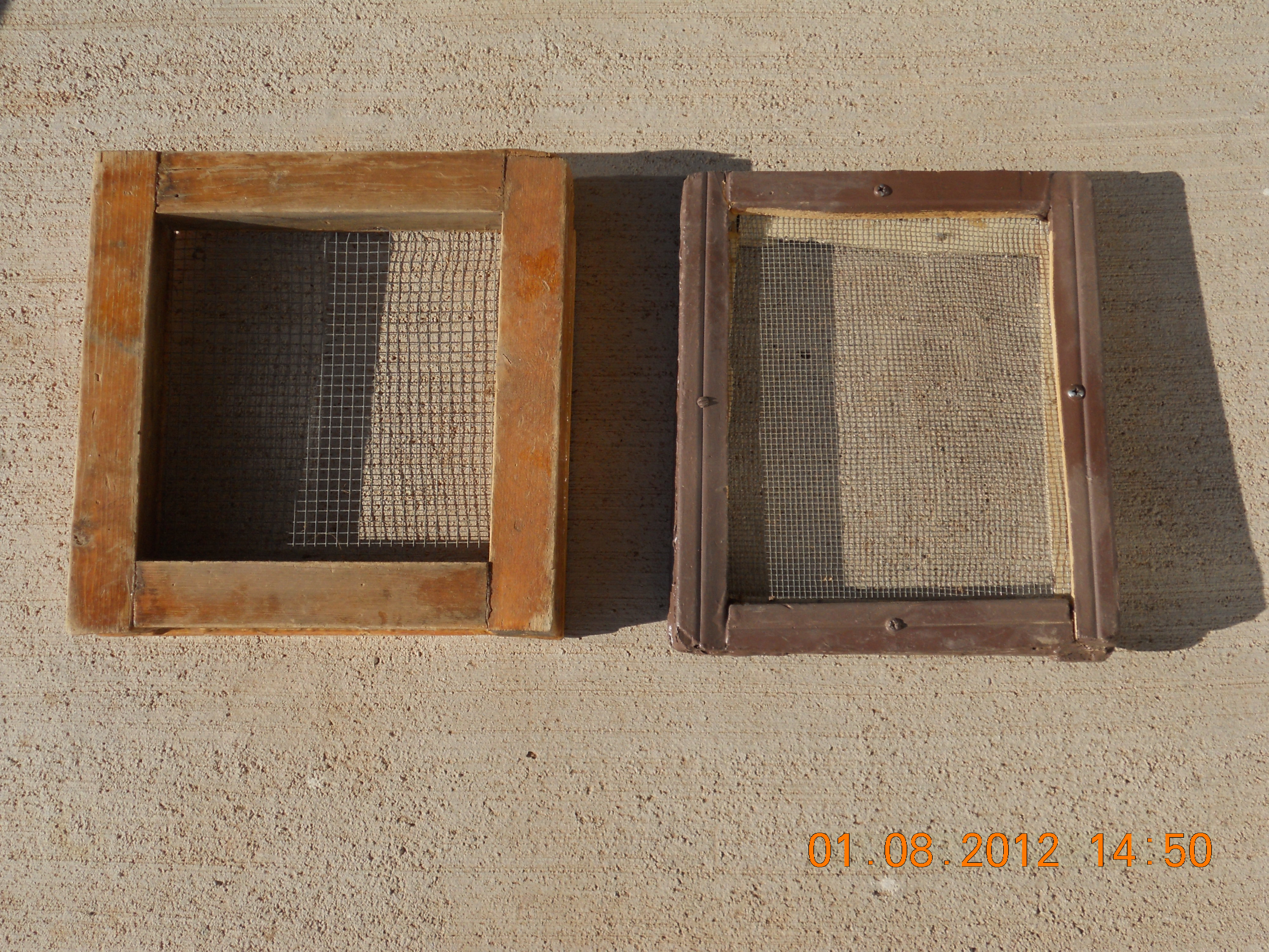 A HOME-MADE ROCKER BOX FOR GOLD PROSPECTING