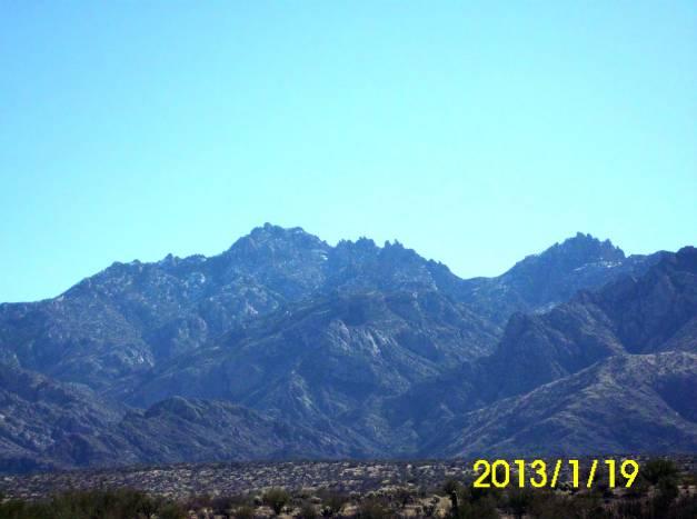 Santa Catalina Mountains North Side
