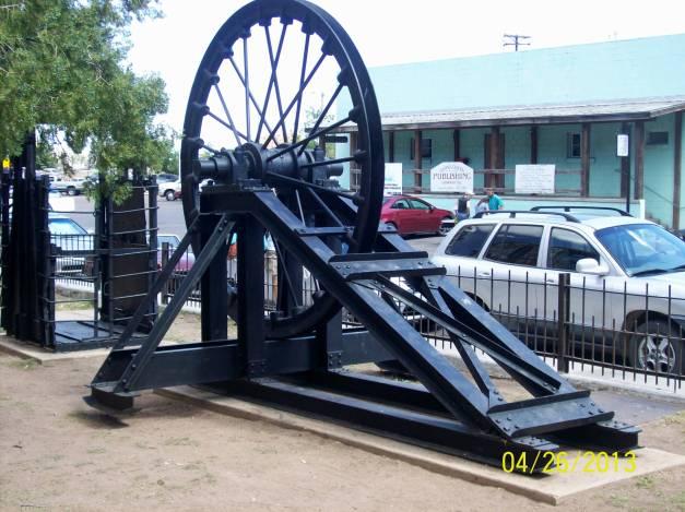 Old mining machinery