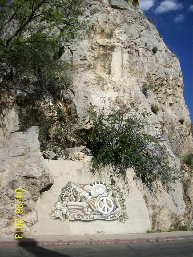 Peace Wall Bisbee, Arizona
