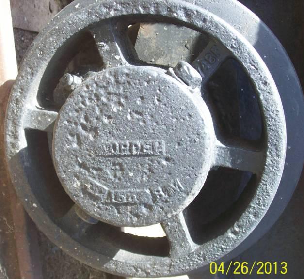 wheel of ore cart