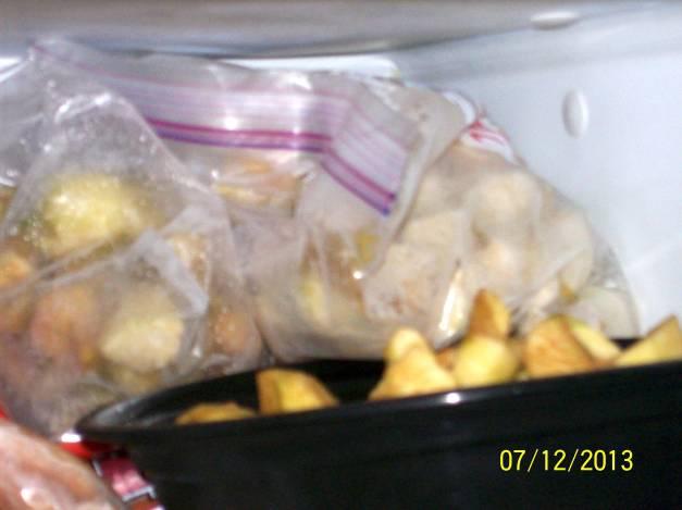 My frozen apples